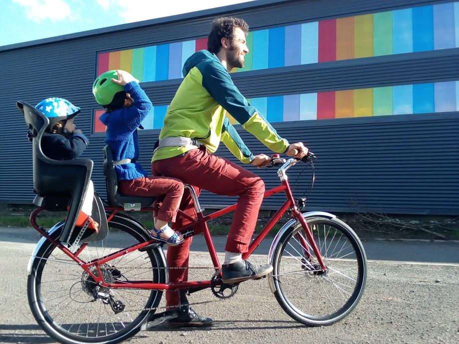 Un vélo pour transporter toute votre famille