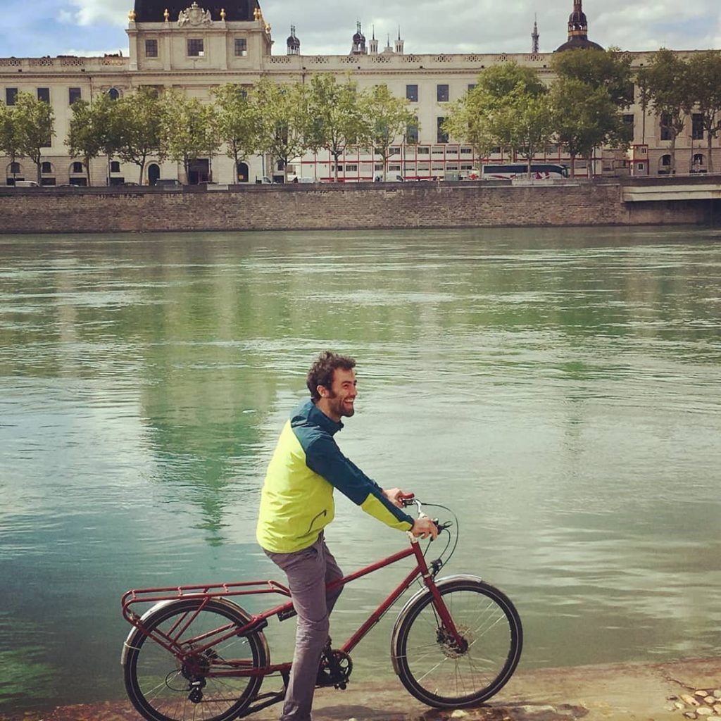 Vélo rallongé à Lyon