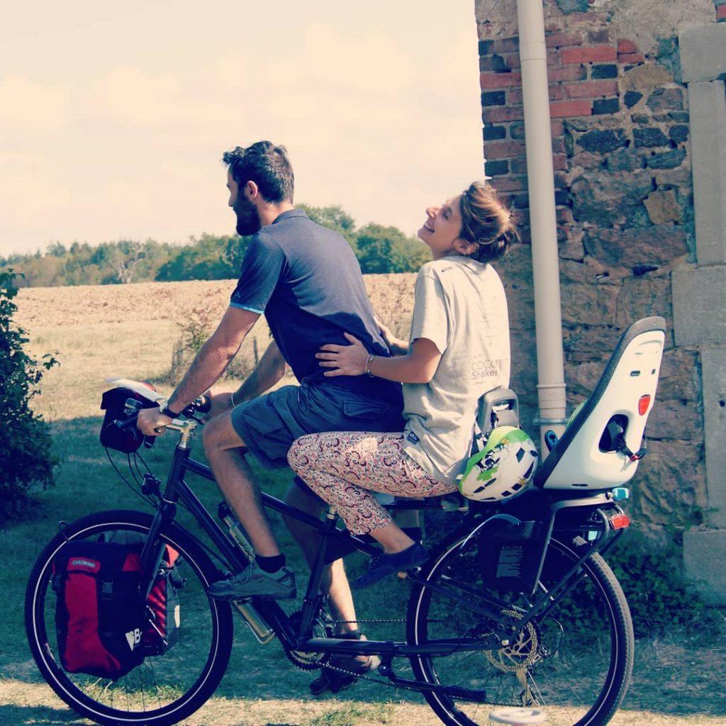 Un vélo rallongé pour voyager